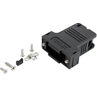 Conec 165X14599XE D-SUB housing Number of pins: 50 Plastic 45 ° Black 1 pc(s)