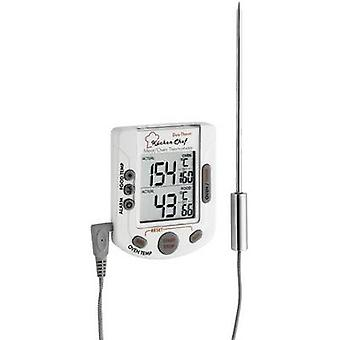 TFA Dostmann 14.1503 Kitchen thermometer Oven and core temperature, incl. touchscreen, incl. timer, Alarm Pork, Beef, Venison, Lamb, Rabbit, Veal, Poultry