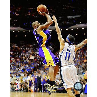Kobe Bryant quinto jogo da NBA 2009 final ação (#21) foto impressão (8 x 10)