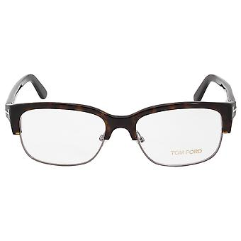 Tom Ford FT5307 53 Square | Mørke Havana | Brillestel