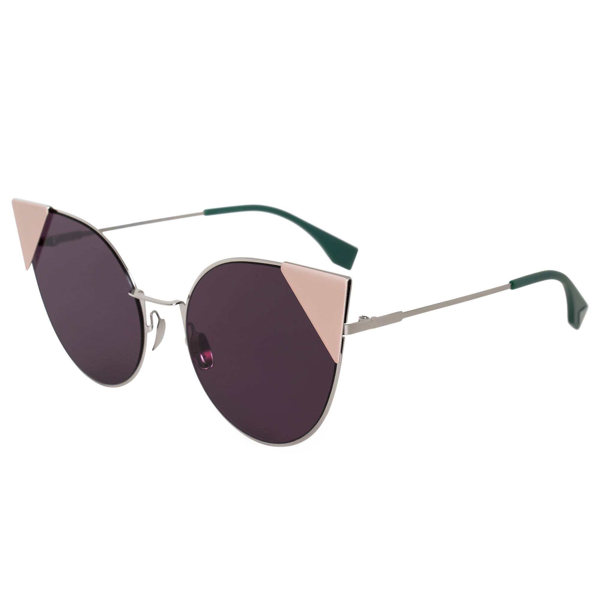 Fendi Lei Round Sunglasses FF0190S 010 OM 57