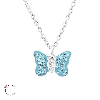 Papillon - 925 Sterling Silver Necklaces - W32753X
