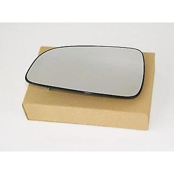 Vasen matkustaja peili lasi (ei lämmitetty) & pidike OPEL ASTRA H 2004-2009