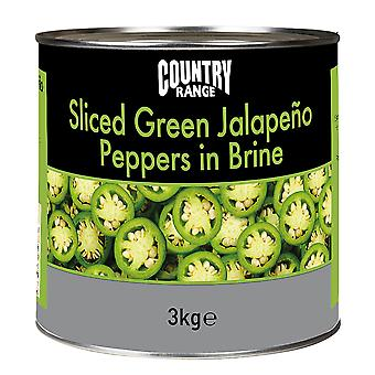 Country Range Sliced Jalapeno Peppers in Brine