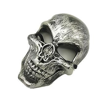 Lebka purge maska Maškaráda strana party Halloween-strieborná