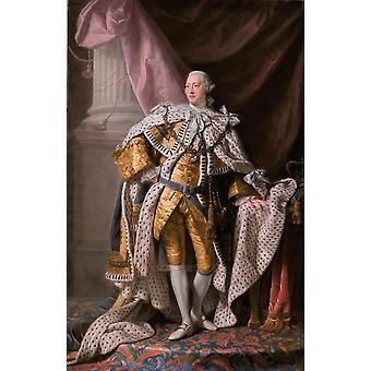 George III, Allan Ramsay, 60x40cm