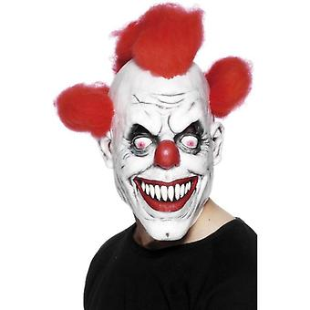 Scary Clown 3/4 Mask