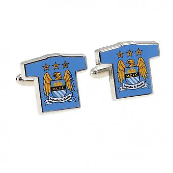 Manchester City FC Shirt Cufflinks
