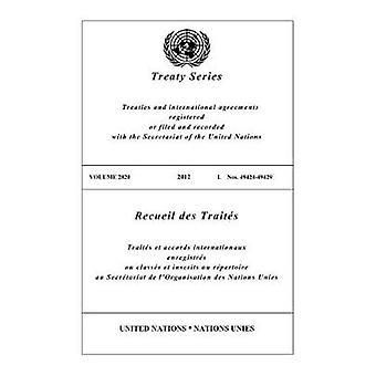 Fördragssamling 2820 (engelska/franska upplagan) av FN Publica