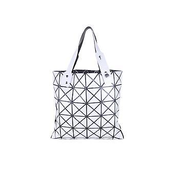 Lovemystyle zilver en zwarte driehoek Tote tas
