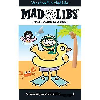 Vacation Fun Mad Libs (Mad Libs (Unnumbered Paperback))