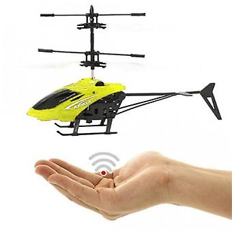 Flying Helicopter/infrared induction helicopter (yellow)