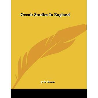 Études occultes en Angleterre
