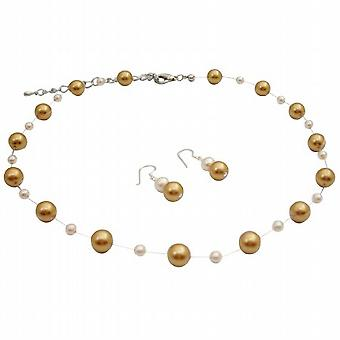 الأزياء والمجوهرات للجميع جني اللؤلؤ اللؤلؤ العاج مجوهرات