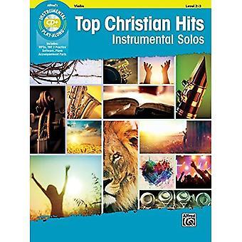 Top Christian Hits instrumentale solo's voor tekenreeksen: viool, boek & CD (instrumentale Solo)