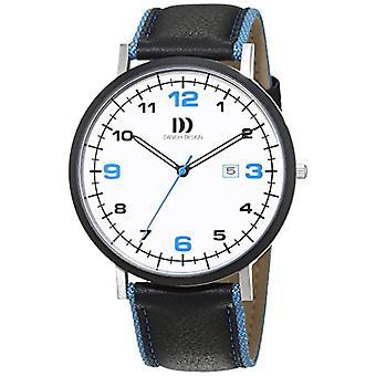 Tanskan Design nahka quartz rannekello 3314478