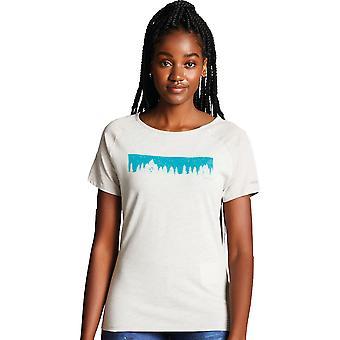 Dare 2 b Womens Forest Astral graphique les T Shirt découpés de mèche