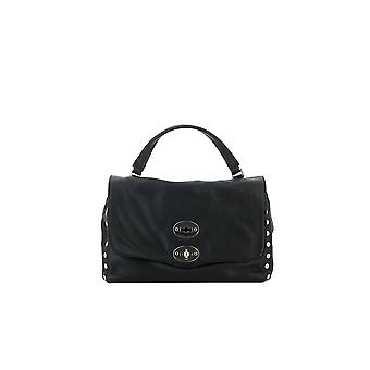 Zanellato 61201802 Women's Black Leather Handtas