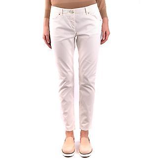 Brunello Cucinelli Ezbc002008 Women's White Cotton Jeans