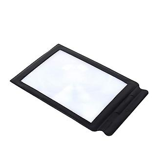 MAGNIFIER SCREEN A4, 3 X MAGNIFICATION GLASS