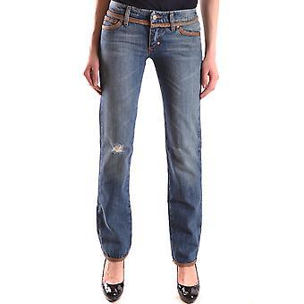 Frankie Morello Ezbc167036 Women's Blue Denim Jeans