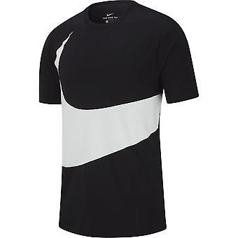 Nike Hbr Swoosh 1 AR5191010 universel toute l'année hommes t-shirt