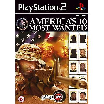 Americas 10 Most Wanted (PS2)-in de fabriek verzegeld