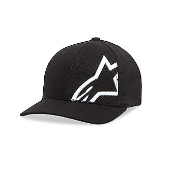 Alpinestars Mens Mock Mesh Curve Cap ~ Corp Shift black/white