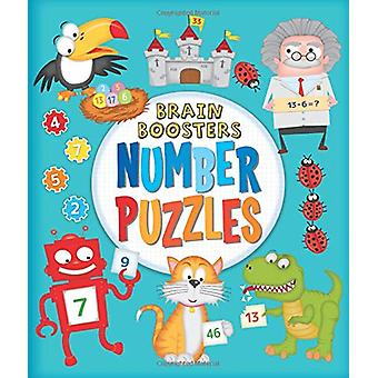 Brain Boosters - Number Puzzles by Kate Overy - 9781784283469 Book