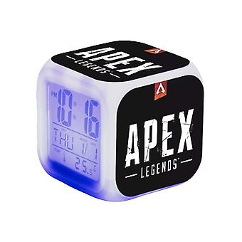 Digital Alarm Clock-Apex Legends, Black Logotype