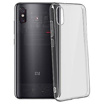 Coque Xiaomi Mi 8 Pro Protection Souple Crystal Akashi - Transparent