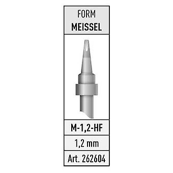 Stannol M-1,2-HF Soldering tip Chisel-shaped Content 1 pc(s)