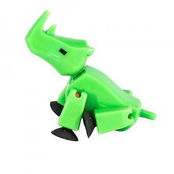 Stikbot Safari Zwierzęta - Zielony Nosorożec