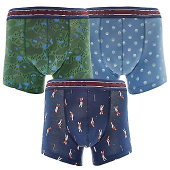 Joules Mens Crown Joules 3 Pack Soft Cotton Fashion Boxers