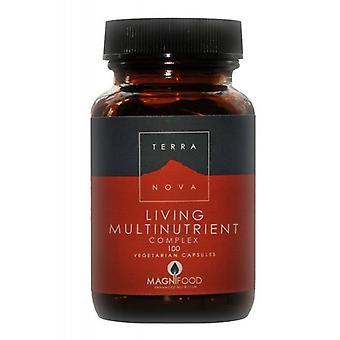 Terranova Living Multinutrient Complex Vegicaps 100 (T1353)