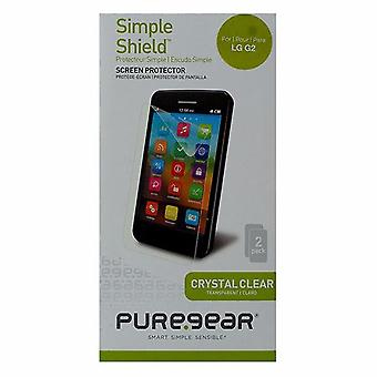 PureGear Simple Shield Screen Protector for LG G2