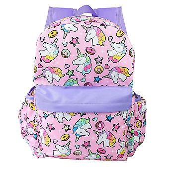 Backpack - Unicorn - Pink All Over Prints 16