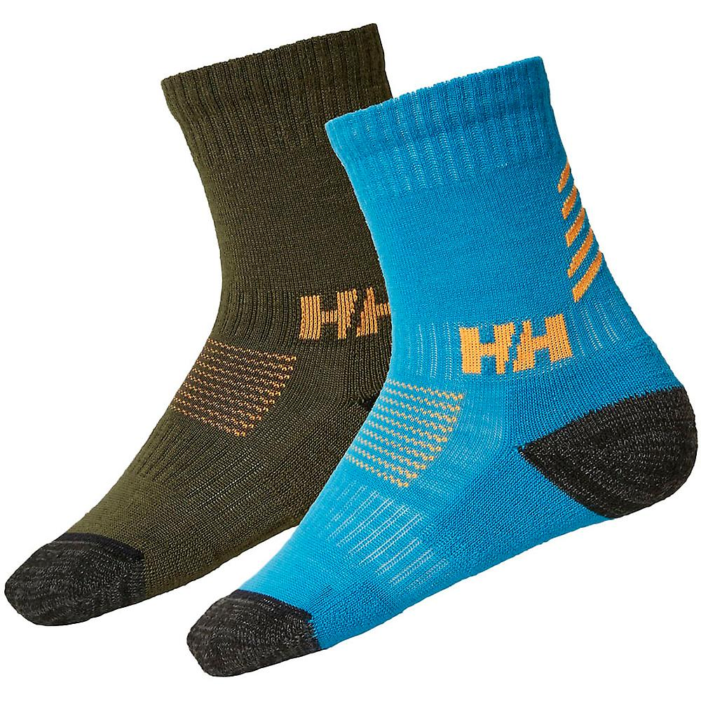 Helly Hansen chicos y chicas Lifa Merino lana Pack 2 calcetines
