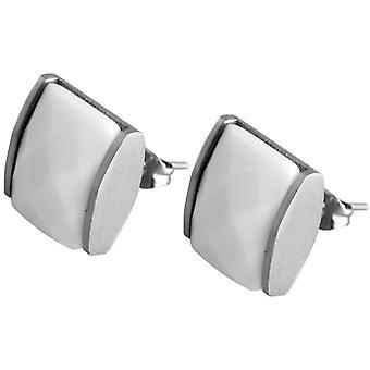 Akzent - أقراط الفص النسائية - الفولاذ المقاوم للصدأ - سمك القد 004400000036