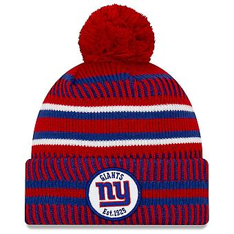 New Era Sideline Home 2019 Bommel Hat New York Giants