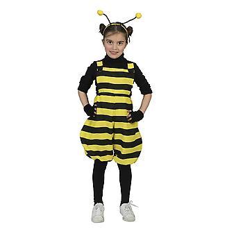 Barn drakt bib kjeledress Bee Bee Bee humle karneval forkledning barn kostyme insekt