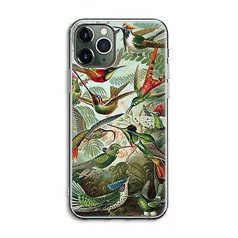 iPhone 11 Pro Max Transparent Case (Soft) - Haeckel Trochilidae