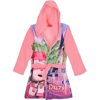Lányok DHQ2137 Super Wings Soft Fleece csuklyás öltöző ruha