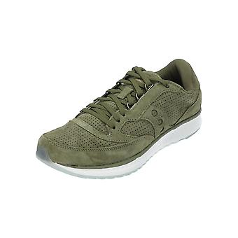 Saucony FREEDOM RUNNER GREEN Women's Sneaker Green Turn Shoes Sports Run