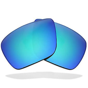 SeekOptics Replacement Lenses for VON ZIPPER ELMORE Polarized Blue Mirror UV400