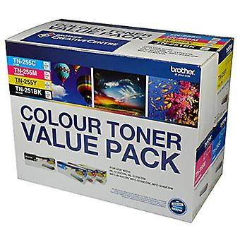 Brother TN25x Colour Toner Value 4 Pack