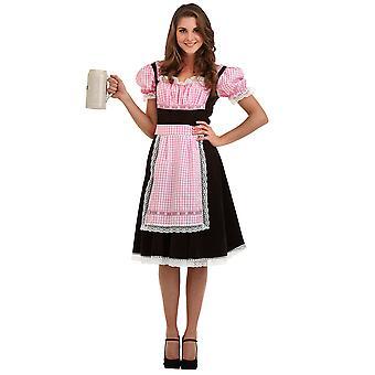 Bavarian Beer Maid Halloween Costume, Medium