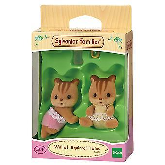 Familii Sylvanian-nuc veveriță gemeni jucărie