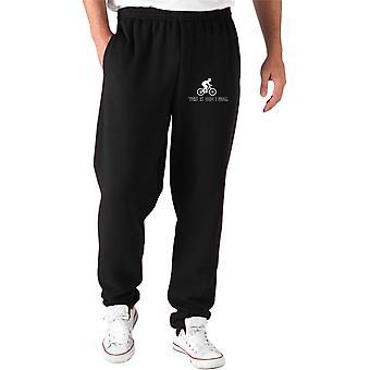 Pantaloni tuta nero gen0447 this is how i roll