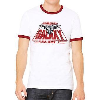 Guardians Of The Galaxy 2 Unisex Adults Milano And Text T-Shirt